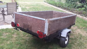 UTILITY TRAILER 41 X 77 INCH IN GOOD CONDITION