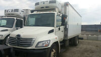 2007 Hino 338 Reefer Truck (Automatic/Ramp)