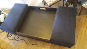 Ottoman coffee table with tray. NEED GONE, MAKE AN OFFER.