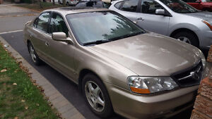 2003 Acura TL tan Sedan