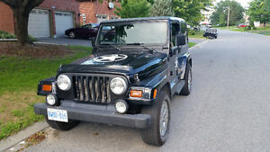 1997 Jeep TJ Sahara Coupe (2 door)