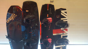 Wake boards and accessories