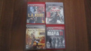 PS3 Play Station 3 games