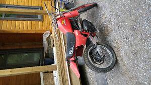 Trade my enduro dirt bike for aluminum boat and trailer