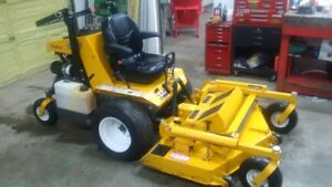 "Walker Super Bee Diesel w/52"" rear discharge deck Lawnmower"