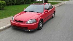 1996 Honda Civic Si (Type-R Engine and Mods) LEATHER/SUNROOF