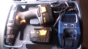 Drill a batterie master craft
