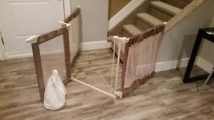 Custom Fit Folding Baby Gate