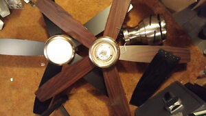 3 GE Ceiling Fans - From Costco Kitchener / Waterloo Kitchener Area image 1
