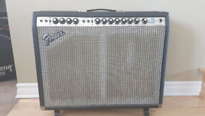 1979 Fender Pro Reverb Silverface + footswitch