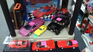 Various Collectable Toy Cars & Trucks