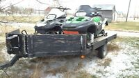 2 cat sleds for sale