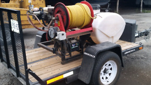 100 Gallon Rittenhouse Sprayer Trailer