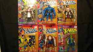 Xmen Lot of 6 Toybiz Figures X-men