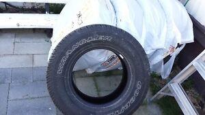 Set of 5 Goodyear SR-A Tires