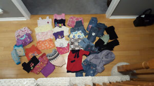 Girls size 4 mix lot (38 pieces)