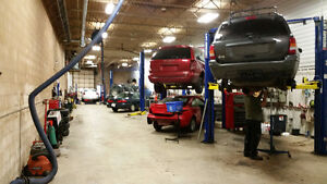 Ideal space for automotive shop