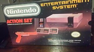 Nintendo Action Set with Gun Mario/Duck Hunt in original box