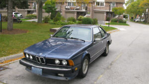 Classic 1985 BMW 635 C.S.I. for Sale