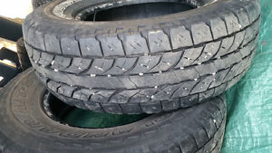 Four Sets Of Tires 2 Winters & 2 All Season Prince George British Columbia image 3