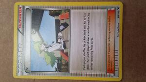 Carte Pokémon supporter Pokemon card - nego