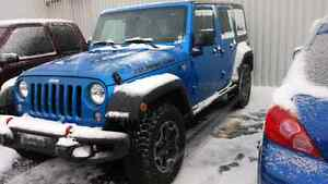 Jeep Wrangler rubicon 2016 fully loaded