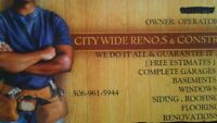 city wide reno,s & const.