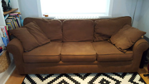 Free - couch with pull out bed - come and get it