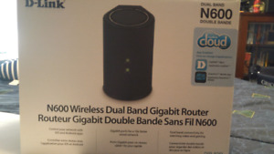 D-Link N600 dual band router