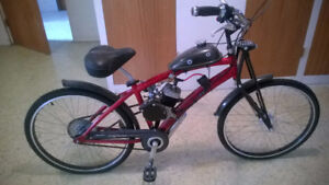 50cc gas bicycle