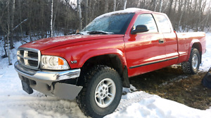 1998 dakota with 360 v8 swap 4x4
