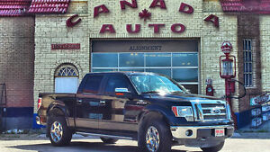 2011 Ford F-150 SuperCrew Lariat with NO Accidents 122,000 kms