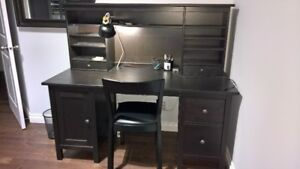 Ikea Hemnes desk + Hutch