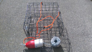 Brand New Crab Trap and accessories