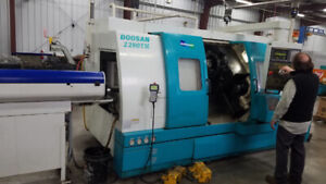 2000 Doosan Z280-TM CNC Turning Center (#3138)