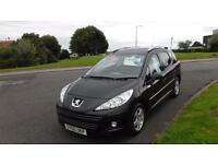 PEUGEOT 207 1.6 HDI SW MILLESIM(60)PLATE,DEMO+1 OWNER,ALLOYS,AIR CON,F.S.H