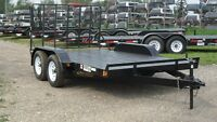 "New 2017 CANADIAN MADE ""Rainbow"" Tandem Axle Utility Trailers Calgary Alberta Preview"