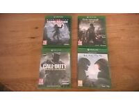 Assorted Xbox one games ( new )