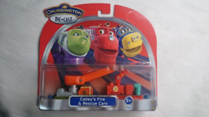 CHUGGINGTON DIE CAST CALLEY'S FIRE & RESCUE CARS