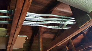 2 sets of adjustable crutches