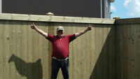Need help building a fence or deck you already bought the materi