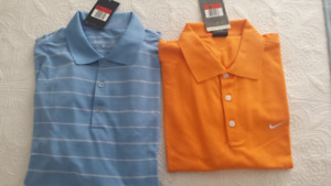 Men's new golf shirts $15.00 each