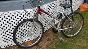 Bicycle de fille presque neuf paye 150.00