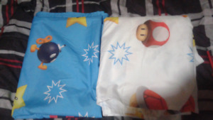 Super Mario single bed sheets