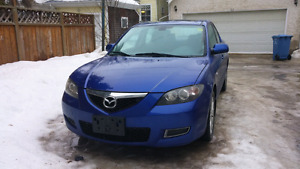 SAFETIED 2007 MAZDA3