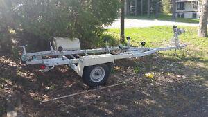 20 foot single axle boat trailer