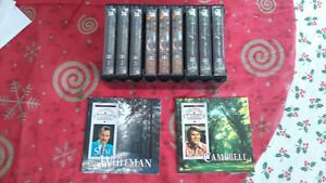 Country Music Cassette Tape Lot of 9-Whitman, Campbell, Williams