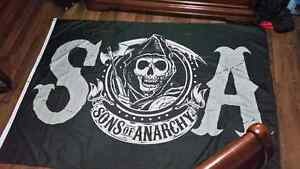 Sons of anarchy wall banner