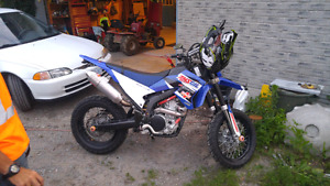 08 WR250X Blue Plated.