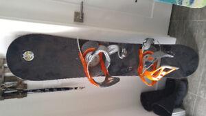 Planche à neige fixations Burton 54 po